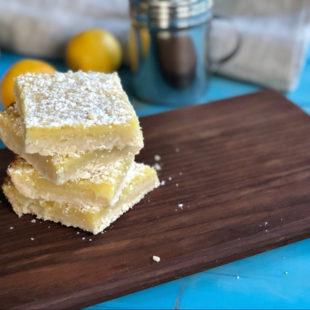Gluten-Free Lemon Bars header