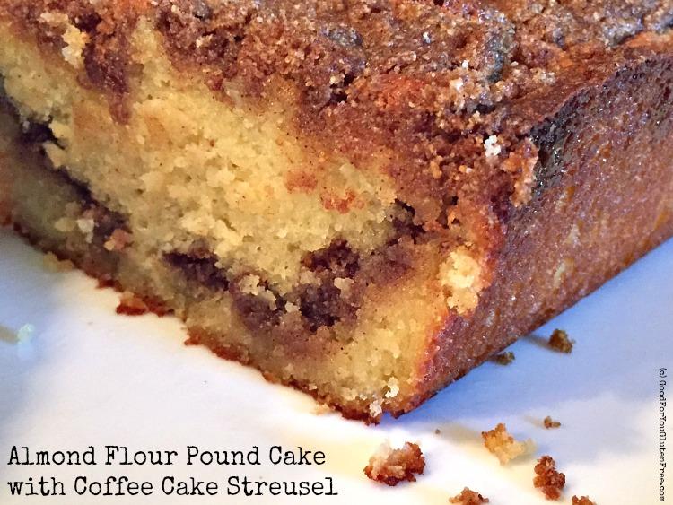 Cardamom Almond Pound Cake