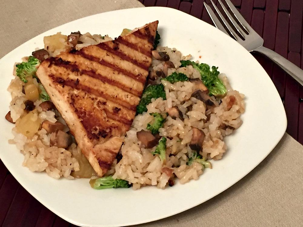Teriyaki Tofu with Vegetable Fried Rice Recipe