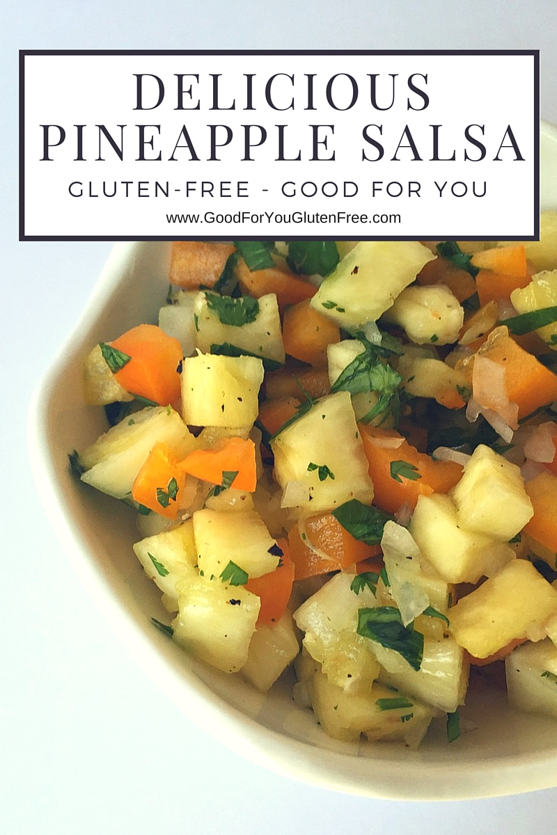 Delicious Pineapple Salsa