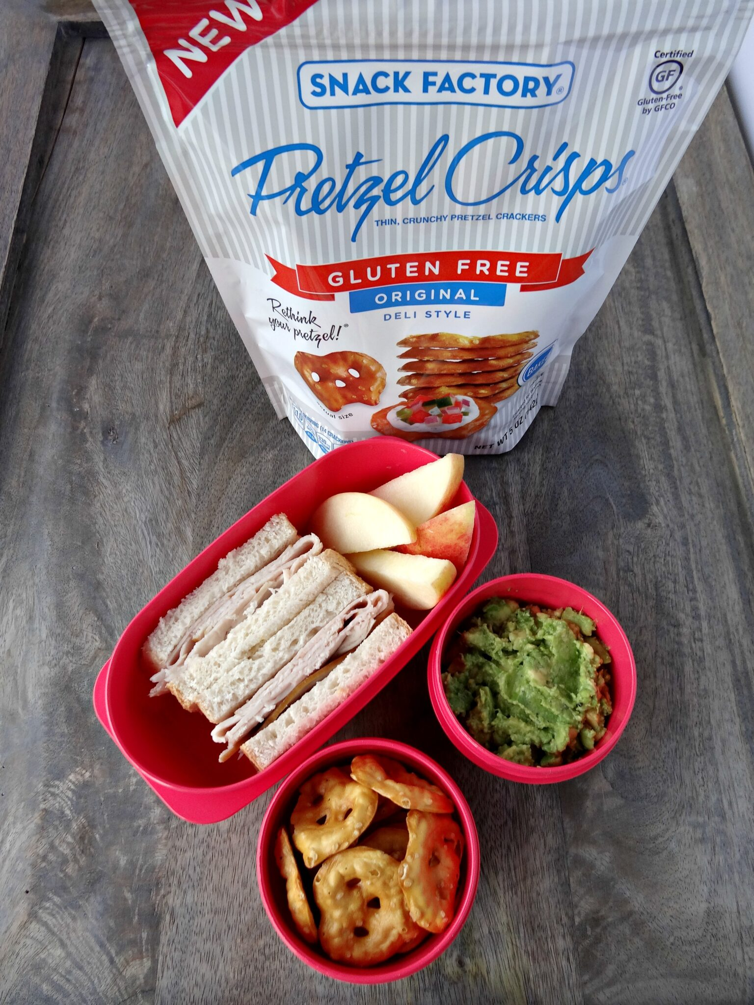 Snack Factory Gluten-Free Pretzels and Tortilla Chips