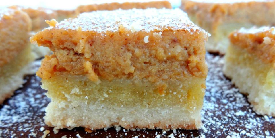 Gluten-Free Pumpkin Pie Bars Recipe Header