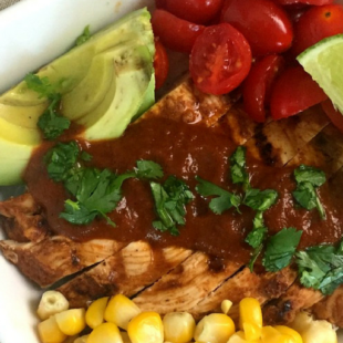 Fresh Tex Mex Enchilada Bowl Header