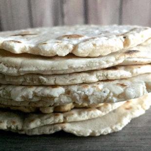 Cassava Flour Tortillas Header