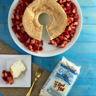 Gluten-Free Angel Food Cake Header