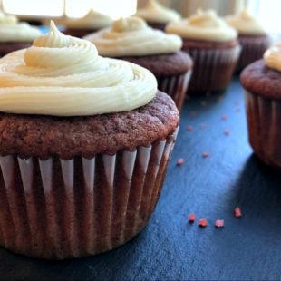 Gluten-Free Red Velvet Cupcakes header