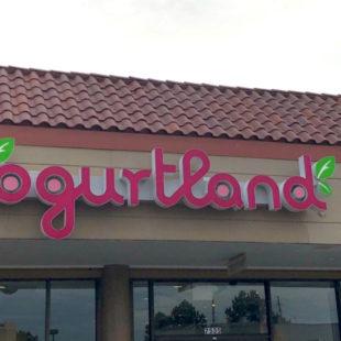 Yogurtland header