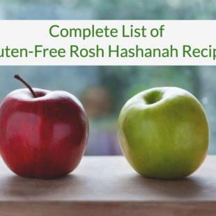 Gluten-Free Rosh Hashanah Recipes header