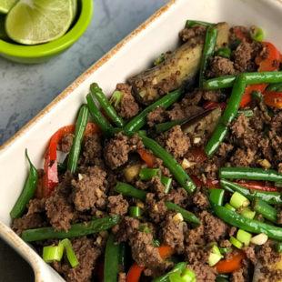 Thai Beef Stir-fry header