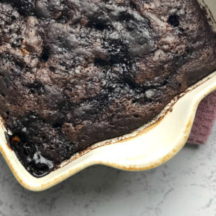 Gluten-Free Chocolate Pudding Cake Header